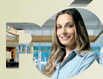 Stephanie Moellwald, aluna de pós do Senac (imagem do site da escola)