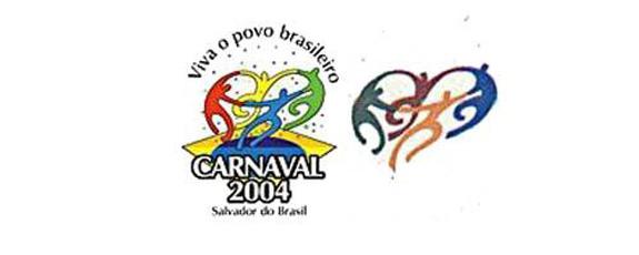 Logo do Carnaval de 2004 de Salvador se assemelha à marca da Olimpíada