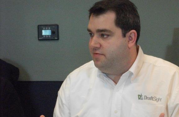 Aaron Kelly: Teremos DraftSight com suporte técnico e serviços de integração com outros softwares