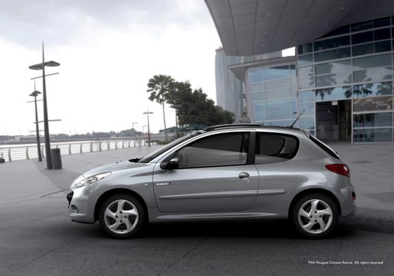 Peugeot 207 traz o estilo clássico e as linhas orgânicas da marca (imagem gerada no Showcase)