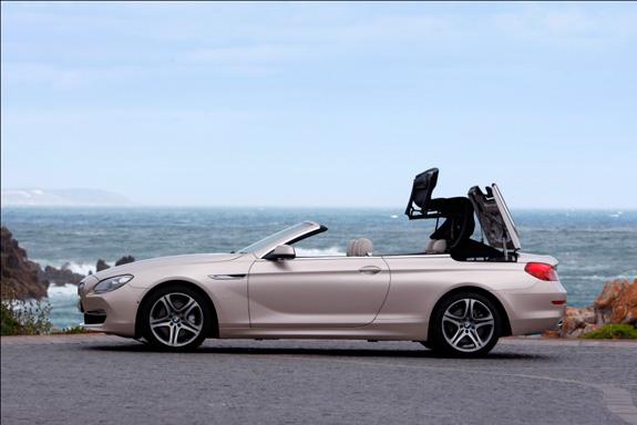 Design do BMW Série 6 Conversível reflete a elegância impar na categoria