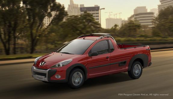 Peugeot Hoggar combina a robustez de um utilitário com um design moderno 9imagem no Max)