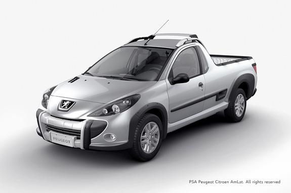 Protótipo virtual da pickup Hoggar gerado no Showcase para validação de estilo