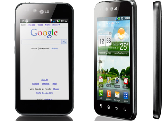 Smartphone, LG Optimus, foi destaque na Digital Experience