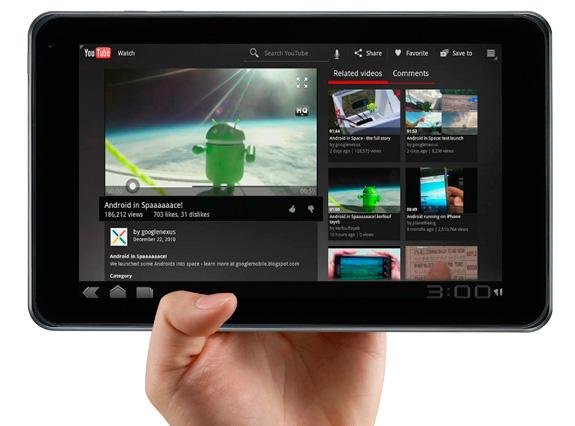 Destaque na Digital Experiencia o tablet Optimus Pad, foi apresentado pela primeira vez no Brasil