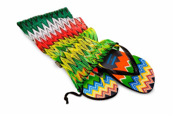 Top Zig-Zag une cores vibrantes e design das Havaianas e Missoni