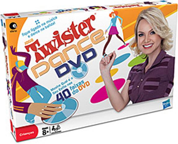 Brinquedo Twister Dance com a marca da apresentadora Eliana