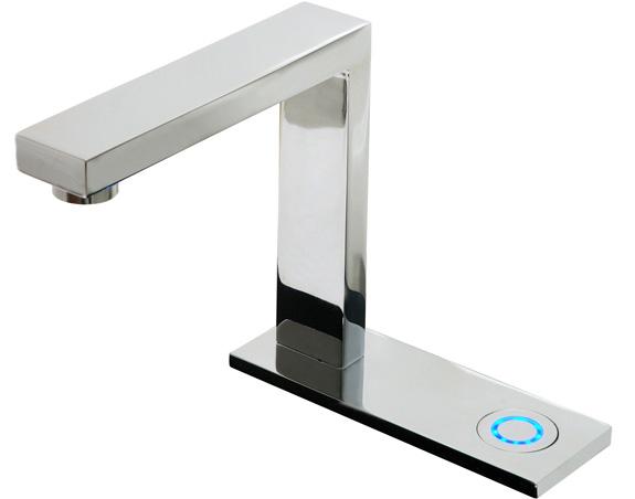 Deca Touch possui sistema eletrônico de acionamento por toque e fechamento automático