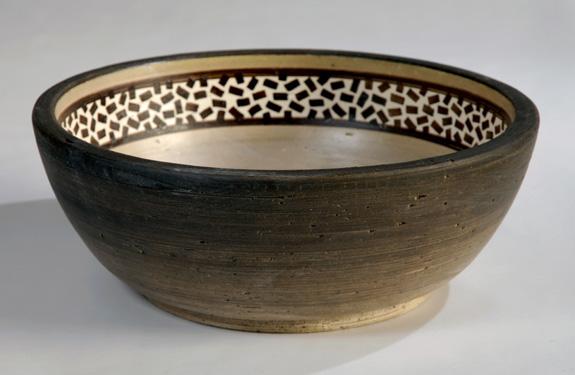 Cuba de cerâmica da Fango, que mostrará produção de cubas em seu estande