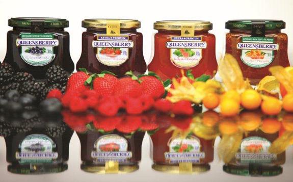 Consultoria de branding reforça marca das geleias Queensberry no mercado