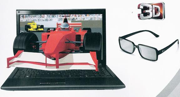 Linha de notebooks LG A520 é capaz de reproduzir conteúdos 3D na resolução Full HD