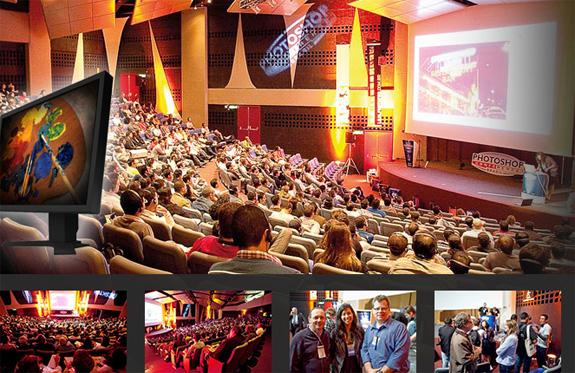 Photoshop Conference 2010 reuniu centenas de participantes de várias partes do país