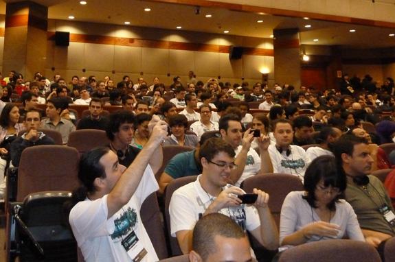 Estudantes e profissionais foram ao The Union aprender com disigers da indústria do entretenimento