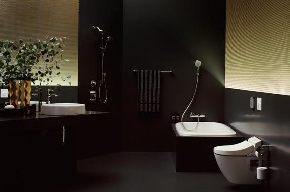 Linha sanitária Toto traz vários itens automatizados como o vaso e o misturador