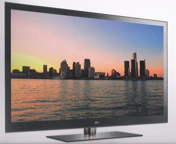 """TV LZ9700 chamou a atenção pelo seu tamanho, 72"""", é a maior já apresentada"""
