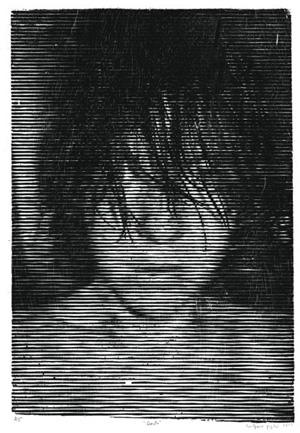 Gravura Dorata, de Rafael Pegatini, vencedora do Prêmio Ibema Gravura