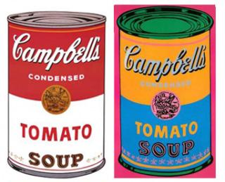 Latas de Andy Warhol que se tornaram ícones da pop art