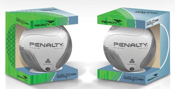 Embalagem de bolas redesenhadas pela Oz Design de acordo com o novo posicionamento da marca