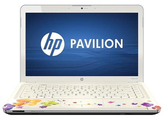 O teclado na cor branca e com as letras em lilás dão o toque final ao design desenvolvido para as mulheres
