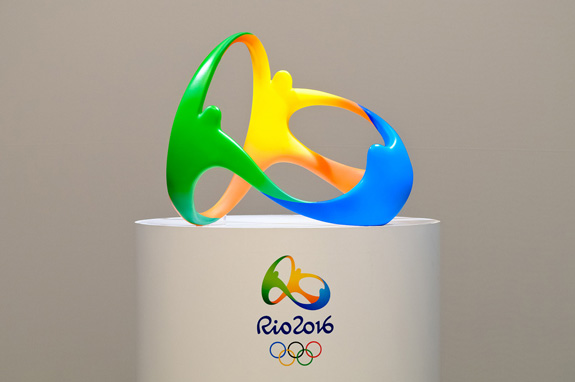 Logo da Rio 2016 será mostrado no formato tridimensional como se fosse um objeto