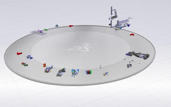PLM permite gerenciar o ciclo de vida do produto da concepção à retirada das pistas