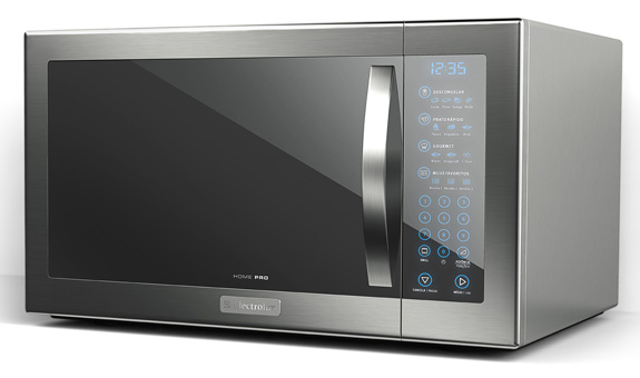 """Micro-ondas Home Pro possui no painel Blue Touch a função """"Meus Favoritos"""""""