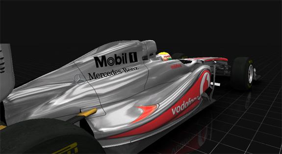 Carro esportivo de alto desempenho, MP4-12C, que está sendo construído pela McLaren Automotive