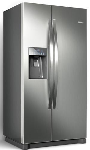 Refrigerador Side by Side Home Pro traz diversos atributos tecnológicos e design minimalista