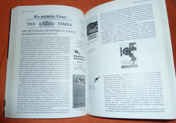 """Livros como """"Design Gráfico - Uma História Concisa"""", de Richard Hollis, ajudam a aprender sobre o design"""