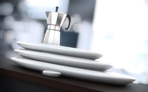 Jumble é um conjunto flexível de superfícies de cozimento por indução