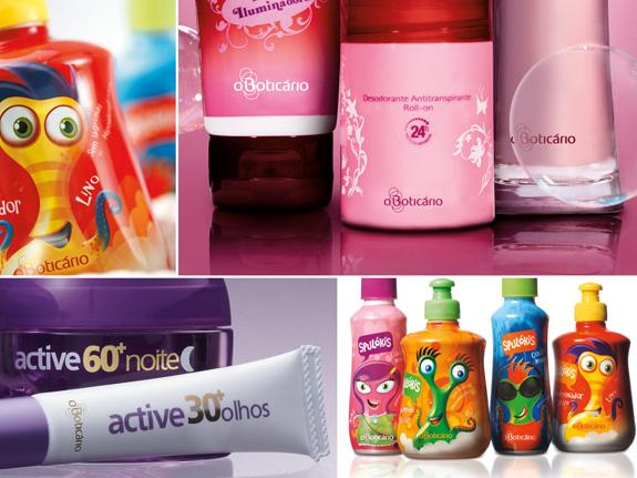 Embalagens de produtos O Boticário seguem a nova estratégia e posicionamento da marca