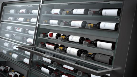 A Wine traz uma dimensão estética para armazenar vinhos e alimentos