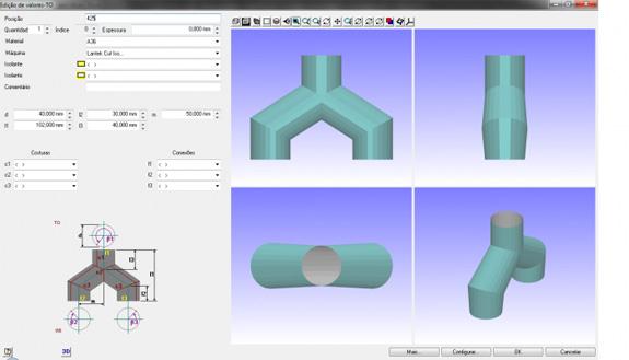Lantek Expert Punch  auxilia no desenvolvimento de peças de calderaria