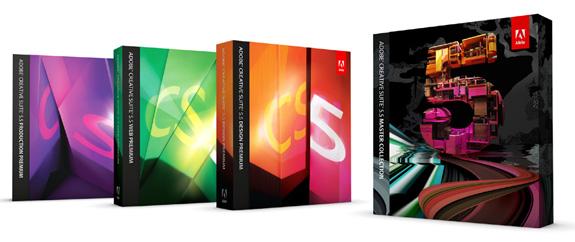 Família CS 5.5 traz muitas inovações para dispositivos móveis, e novos recursos de criação para Web e impressos