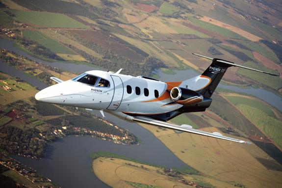 Phenom 100, fabricado pela Embraer faz sucesso em todo o mundo