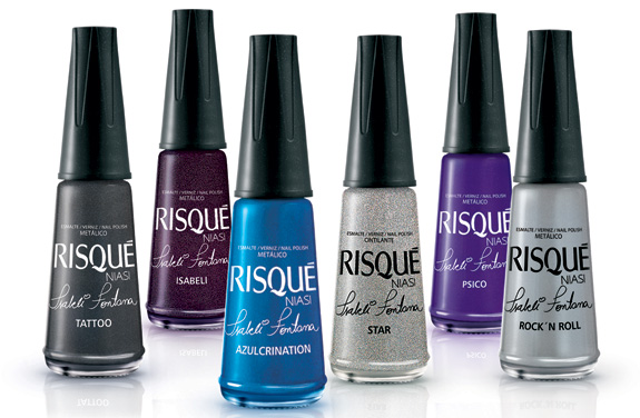 O destaque em lançamentos de novas embalagens em 2010 fica com os esmaltes para unhas