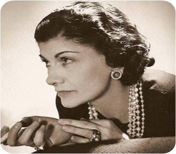 Coco Channel, que deixou sua marca como uma das pioneiras em matéria de luxo