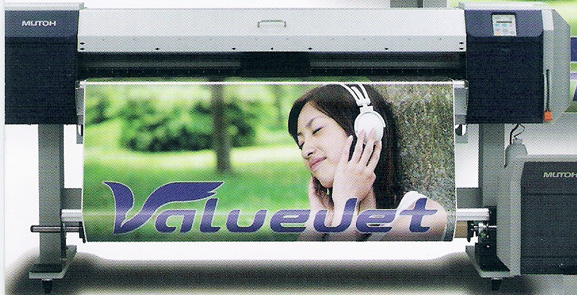 ValueJet opera com a tecnologia por sublimação e impressão por pontos variáveis