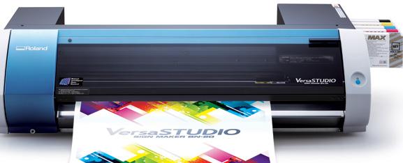 BN-20 permite imprimir em papel transfer para tecidos, etiquetas, rótulos, adesivos, decalques etc.