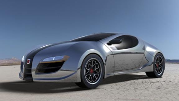 Carro conceito concebido no Inventor pela empresa inglesa de design Technicon
