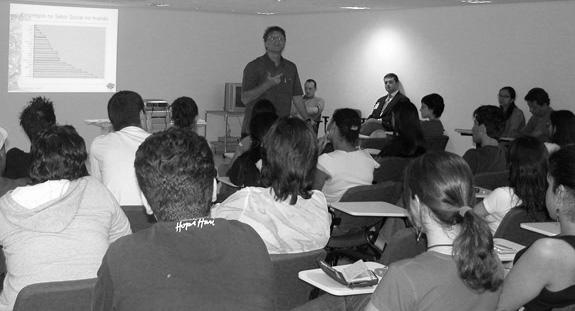 Alunos do Senac em aula (Foto cedida pelo Senac)