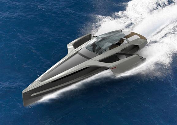 Barco é fruto de um projeto acadêmico concebido pela designer Stefanie Behringer