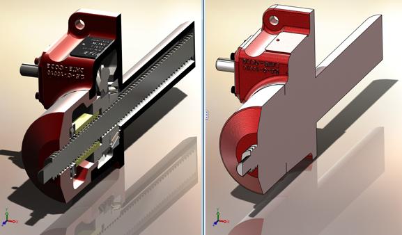 SolidWorks ajuda a criar componentes das máquinas-ferramenta com mais precisão
