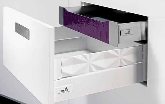 Hettich usa SolidWorks para desenhar gaveteiros para fabricantes de móveis