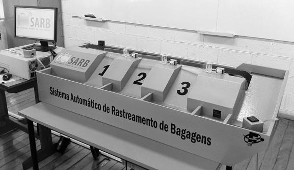 SARB ajuda a evitar o extravio de bagagens dos passageiros em aeroportos