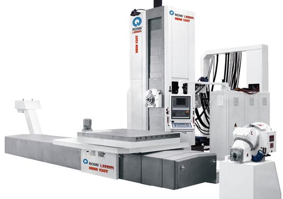 Mandrilhadora Romi hoje é desenhada, fabricada e lançada mais rapidamente no CAD 3D