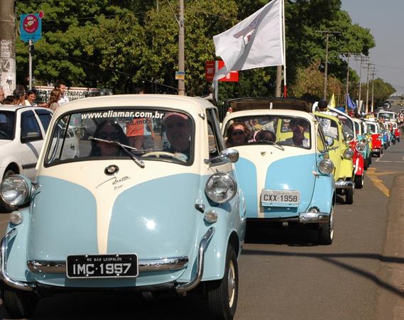 Romi mostrou seu pioneirismo em 1956 ao lançar o primeiro carro nacional, o famoso Romi-Isetta