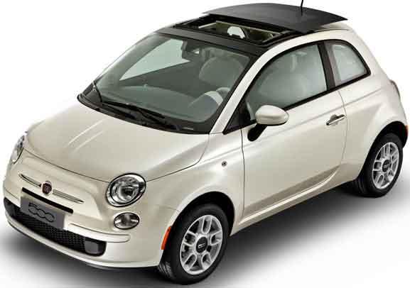 Fiat 500 Cult, modelo de entrada que abre o portfolio da linha Fiat 500 2012 lançada no Brasil