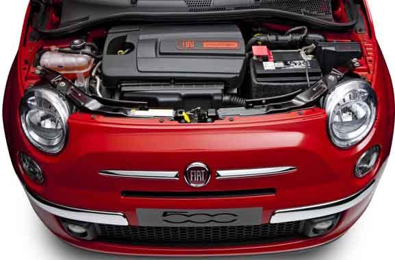 Fiat 500 Louge Air vem com o motor 1.4 16V MultiAir, que traz mais potência e aumenta o torque