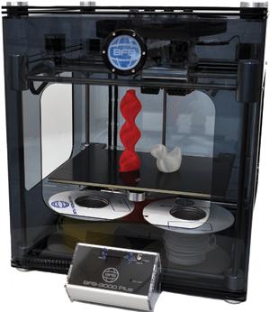 Impressora 3D BFB 3000 lançada durante o seminário de prototipagem da Robtec